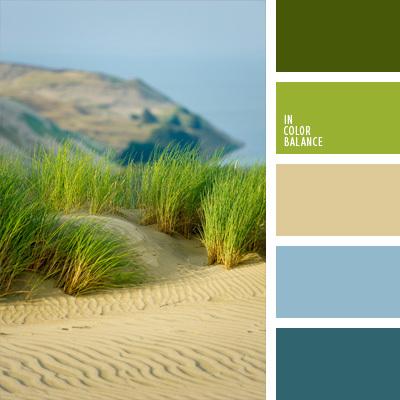 Farben mischen grun und