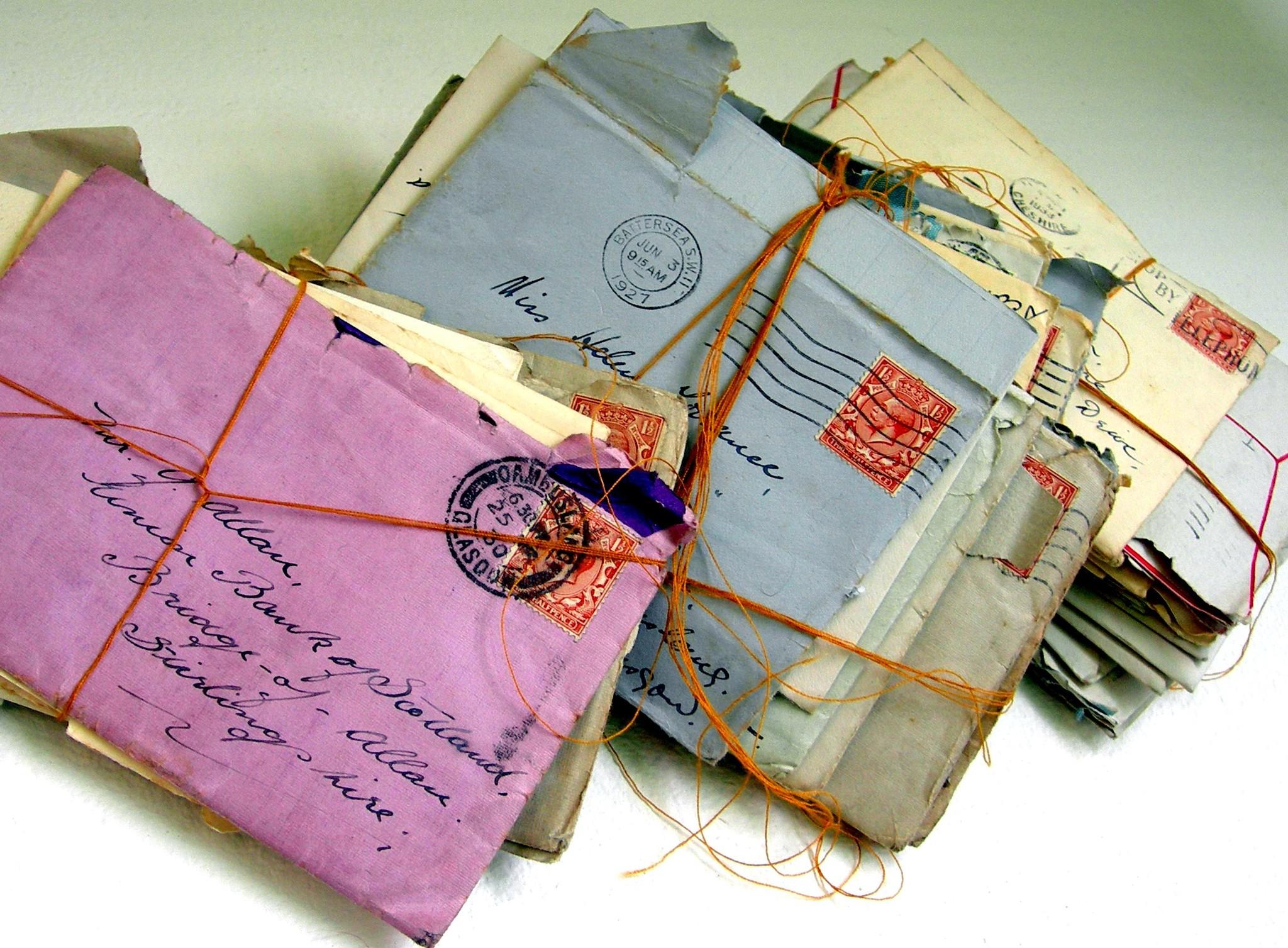 Отправить бумажные открытки по почте, аллочка